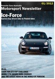 Ice-Force - Porsche Club of Victoria