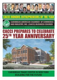 summer paper.pmd - Caribbean American Chamber