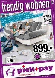 AB 29.- 07 - [trendig wohnen] pick+pay Möbel in Göttingen