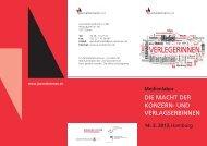 Der Flyer zur Veranstaltung (pdf) - Journalistinnenbund