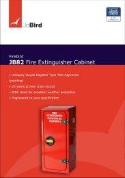 JB82 Fire Extinguisher Cabinet - Riveria - Riveria