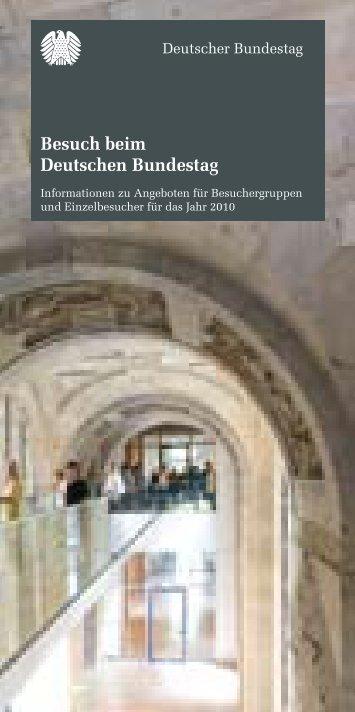 Infos vom Besucherdienst des Bundestages - Rainer Arnold