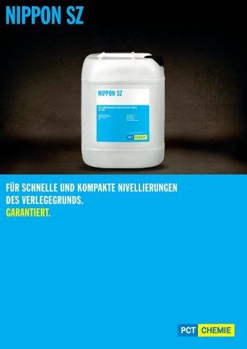 NIPPON SZ - PCT Performance Chemicals GmbH