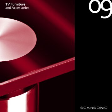 TV Furniture and Accessories - Scansonic