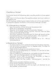 Hochzeits-Checkliste - Steigenberger Hotel Treudelberg Hamburg