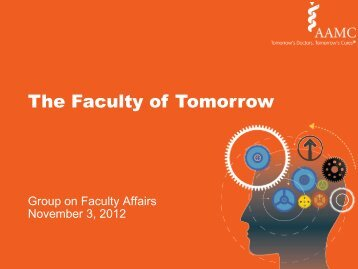 The Faculty of Tomorrow