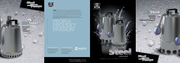 Stainless Steel Brochure - Zenit