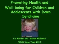 Promoting Health and Well-being for Children and Adolescents with ...