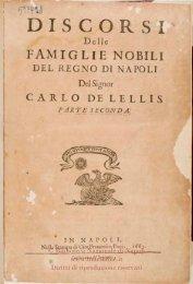 In Napoli : nella stampa di Gio. Francesco Paci, 1663. - Biblioteca ...