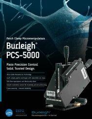 Burleigh® PCS-5000 Patch Clamp Micromanipulators - SCOP-PRO