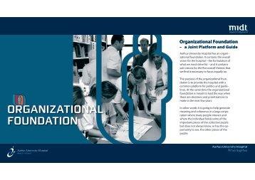 ORGANIZATIONAL FOUNDATION