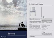 Freiland-Armlehnstuhl - Archetypen