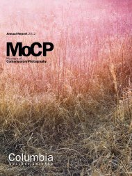 Annual Report 2012 - Museum of Contemporary Photography