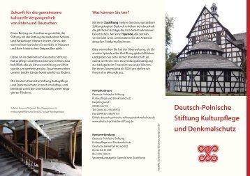 Mehr - Deutsch-Polnische Stiftung