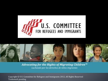 Luchando por los derechos de los niños migrantes
