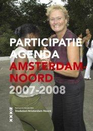 PARTICIPATIE AGENDA AMSTERDAM- NOORD - Forum, Instituut voor ...