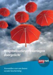 Hospitalisatieverzekeringen doorgelicht - Zorgnet Vlaanderen