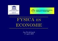 FYSICA en ECONOMIE