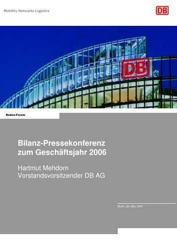 Rede BPK G Handout deutsch - Deutsche Bahn AG