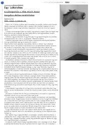 Barna Róbert: Egy Lóhátshow • A Látogatás – The Visit ... - Balkon