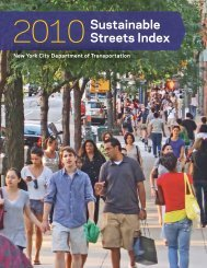 2010 Sustainable Streets Index - NYC.gov