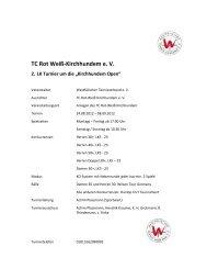 Ausschreibung (pdf) - nuLiga