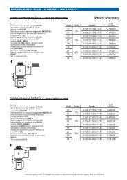 Cenik G125 BE - Buderus