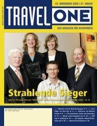 Strahlende Sieger - Travel-One