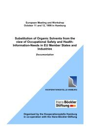 Substitution of Organic Solvents from the view of Occupational ...