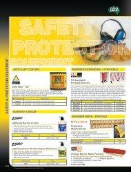 Safety Equipment - McGinns