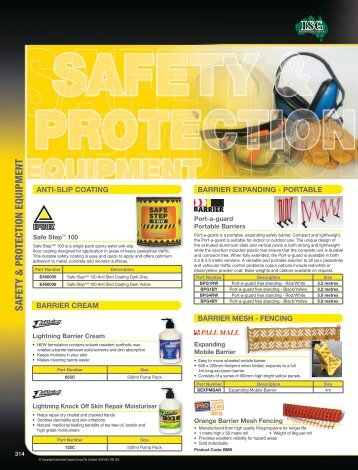 Safety Equipment - McGinns