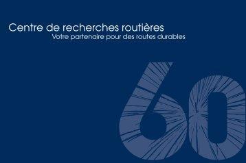 Brochure 60 ans CRR