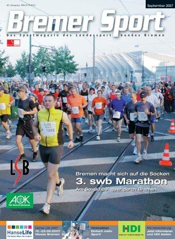 3. swb Marathon 3. swb Marathon - Trenz AG