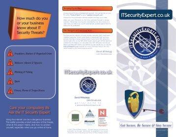 ITSecurityExpert.co.uk ! ! ! ! ! - Information Security Pro