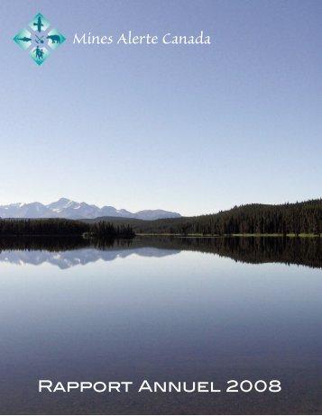 Rapport Annuel 2008 - MiningWatch Canada