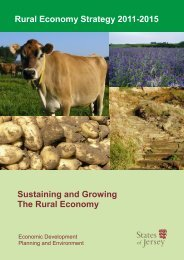 Rural Economy Strategy 2011-2015 - States of Jersey