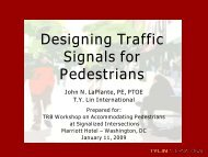 Designing Traffic Signals For Pedestrians - Traffic Signal Systems ...