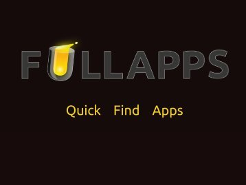 Quick Find Apps - Wind Business Factor