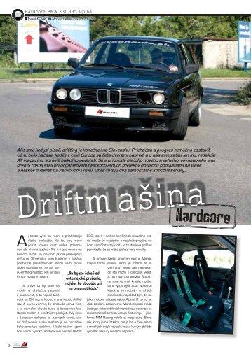 Hardcore: BMW E30 335 Alpina - AutoTuning.sk
