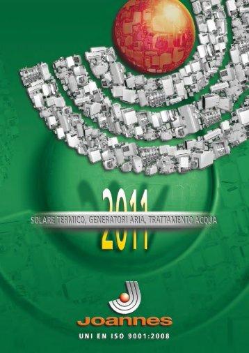 CATALOGO 2011 (Solare termico, Ventilconvettori) - Certificazione ...