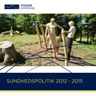 SUNDHEDSPOLITIK 2012 - 2015 - Struer kommune