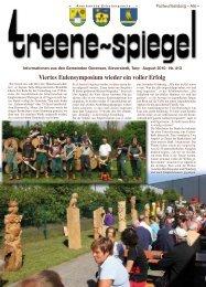 Ev.-Luth. Kirchengemeinde Tarp - Treenespiegel