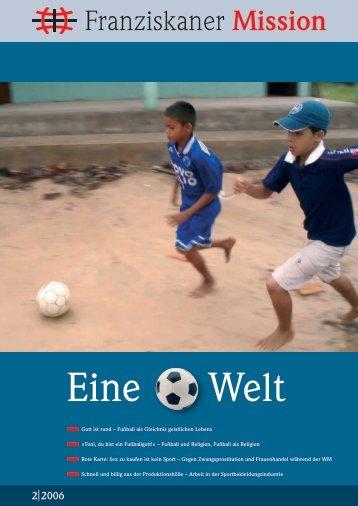 2|2006 - Neue Provinzleitung der Deutschen Franziskaner