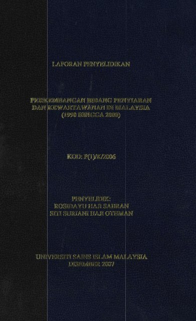 Rosidayu Haji Sabran -- P(1)-K-2006.pdf - USIM - Universiti Sains ...