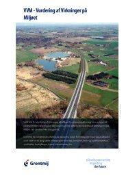 VVM - Vurdering af Virkninger på Miljøet - Grontmij