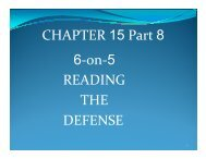 Chap. 15 6-on-5 Reading the Defense - Water Polo Planet
