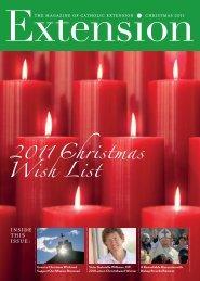 Wish List 2011 Christmas - Catholic Extension