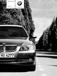 Freude am Fahren BMW 3er Limousine Preisliste Stand ... - BMW-Treff