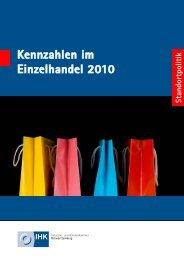 Kennzahlen im Einzelhandel 2010 - Ostwürttemberg in Zahlen
