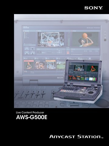AWS-G500E - Professional Video Store
